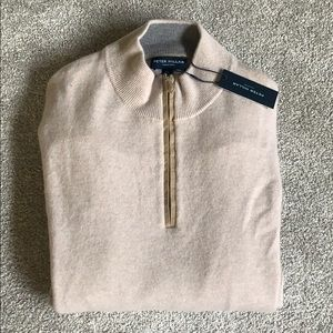 Peter Millar 100% Pure Cashmere Sweater XL  $550
